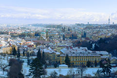 Cidade de Praga na queda. Foto de Stock Royalty Free