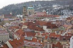 Cidade de Praga na queda. Imagens de Stock Royalty Free