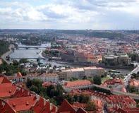 Cidade de Praha Foto de Stock Royalty Free