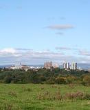 Cidade de Preston, Lancashire. fotografia de stock royalty free