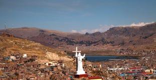 Cidade de Puno Fotos de Stock Royalty Free