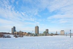 Cidade de Quebec Imagens de Stock Royalty Free