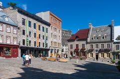 Cidade de Quebec velha, Canadá fotos de stock