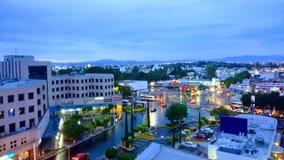 Cidade de Querétaro fotografia de stock