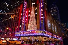 Cidade de rádio dos feriados Foto de Stock