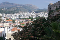Cidade de Rethymno crete Imagens de Stock Royalty Free