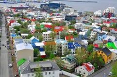 Cidade de Reykjavik Imagens de Stock