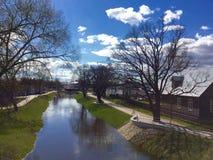 Cidade de Rezekne Imagens de Stock