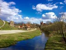 Cidade de Rezekne fotografia de stock