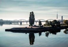Cidade de Riga Fotos de Stock Royalty Free