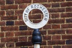 Cidade de Rochester em Kent fotos de stock