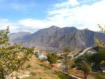Cidade de Rogun Fotografia de Stock