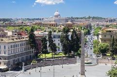 Cidade de Roma foto de stock royalty free