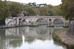 A cidade de Roma Imagens de Stock Royalty Free