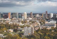 Cidade de Rotterdam foto de stock