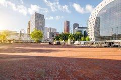 Cidade de Rotterdam em Países Baixos fotos de stock royalty free
