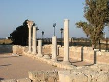 Cidade de ruínas antigas Foto de Stock Royalty Free