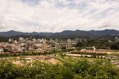 Cidade de Rude - Santa Catarina, Brasil Imagem de Stock Royalty Free