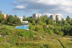 A cidade de Rzhev, região de Tver, Rússia foto de stock