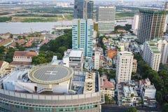 Cidade de Saigon, Vietname foto de stock royalty free