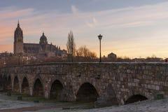 Cidade de Salamanca, Espanha Fotografia de Stock Royalty Free