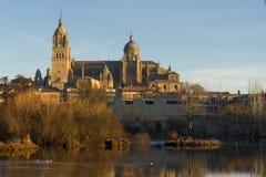 Cidade de Salamanca, Espanha Fotografia de Stock
