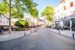 Cidade de Salon de Provence em França foto de stock royalty free