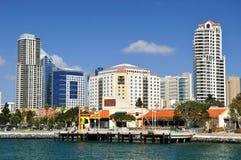 Cidade de San Diego Fotos de Stock Royalty Free