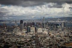 A cidade de San Francisco 2018 fotografia de stock