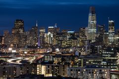 A cidade de San Francisco 2018 imagens de stock royalty free