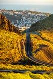 Cidade de San Sebastian na ilha de Gomera do La Fotos de Stock
