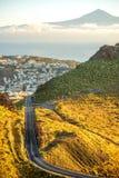 Cidade de San Sebastian na ilha de Gomera do La Foto de Stock Royalty Free