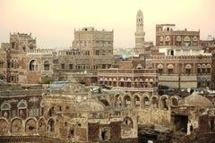 Cidade de Sana'a - Iémen - Ásia Fotos de Stock