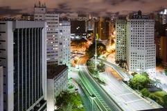 Cidade de Sao Paulo, Brasil Fotografia de Stock