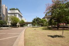Cidade de Sao Paulo em Brasil Fotos de Stock Royalty Free