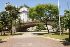 Cidade de Sao Paulo em Brasil Fotografia de Stock Royalty Free