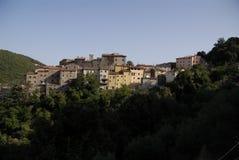 Cidade de Sassetta Imagens de Stock Royalty Free