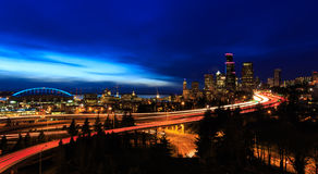 Cidade de Seattle fotos de stock