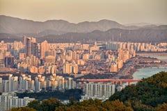 Cidade de Seoul imagem de stock