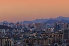 Cidade de Seoul Imagens de Stock Royalty Free