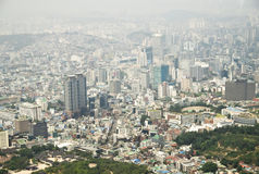 Cidade de Seoul de Coreia Foto de Stock
