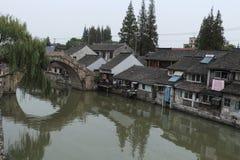 Cidade de Shanghai Fengjing no outono Imagens de Stock Royalty Free