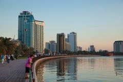 Cidade de Sharjah Fotografia de Stock Royalty Free