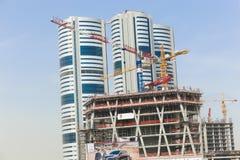 Cidade de Sharjah do estado real foto de stock