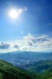 Cidade de Shatin Foto de Stock Royalty Free