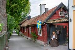 Cidade de Sigtuna. Suécia Fotos de Stock