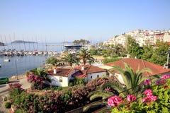 Cidade de Skiathos, Skiathos, Grécia Fotos de Stock