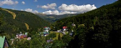 Cidade de Spindleruv Mlyn Imagens de Stock Royalty Free