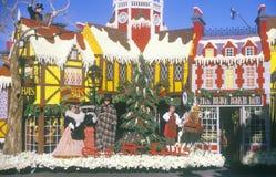 Cidade de St Louis Float em Rose Bowl Parade, Pasadena, Califórnia Foto de Stock Royalty Free