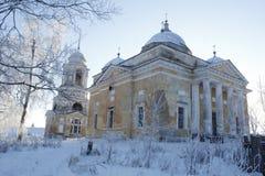 A cidade de Staritsa, Tver, Rússia Imagens de Stock